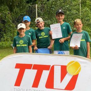 U12 Jungs – VIZEMEISTER Tirol